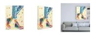 "Trademark Global Pamela K. Bee High Tops Canvas Art - 27"" x 33.5"""