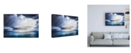 "Trademark Global Lynne Dougla Skyestorm 1 Canvas Art - 27"" x 33.5"""