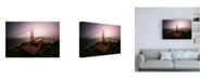 "Trademark Global Bruce Gett White Out Canvas Art - 15.5"" x 21"""