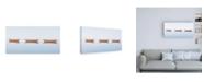 "Trademark Global Katherine Gendrea Three Dories II Canvas Art - 19.5"" x 26"""