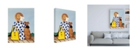 """Trademark Global Cassandra Gillen My Friend Pet Canvas Art - 27"""" x 33.5"""""""