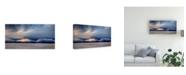 "Trademark Global John Fan Day Break at White Sand Canvas Art - 20"" x 25"""