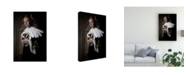 "Trademark Global Carola Kayen Mouthaan My Sweet Skunk Friens Canvas Art - 20"" x 25"""
