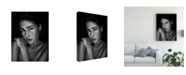 "Trademark Global Martin Krystynek Qep Freckles Romi Canvas Art - 37"" x 49"""