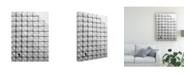 "Trademark Global Dong Hee Han Cube Scaffold Canvas Art - 37"" x 49"""
