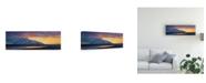 """Trademark Global Michael Budden Antelope Overlook Canvas Art - 20"""" x 25"""""""