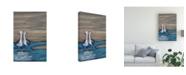 "Trademark Global Marnie Bourque Lovebirds Iia Canvas Art - 37"" x 49"""