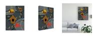 "Trademark Global Marie Sansone The Neighborhood Canvas Art - 37"" x 49"""