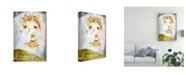 "Trademark Global Mindy Lacefield Acorn Princess Canvas Art - 37"" x 49"""