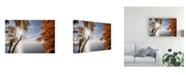 "Trademark Global Monte Nagler Sunrise at White Fish Dunes Canvas Art - 37"" x 49"""