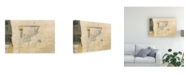 "Trademark Global Elena Ray Modern Collage III Canvas Art - 15"" x 20"""