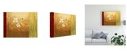 "Trademark Global Pablo Esteban White on Panels 4 Canvas Art - 27"" x 33.5"""
