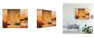 "Trademark Global Pablo Esteban Three Panel Landscape 2 Canvas Art - 15.5"" x 21"""