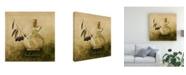 "Trademark Global Pablo Esteban Olive Oil Branches 2 Canvas Art - 19.5"" x 26"""