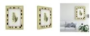 "Trademark Global Pablo Esteban Fern Leaf Framed 1 Canvas Art - 36.5"" x 48"""