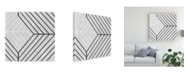 "Trademark Global June Erica Vess Diametric IV Canvas Art - 19.5"" x 26"""