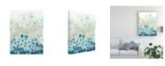 "Trademark Global June Erica Vess Pattern Shore I Canvas Art - 15.5"" x 21"""