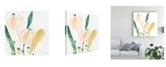"Trademark Global June Erica Vess Garden Essence VIII Canvas Art - 19.5"" x 26"""