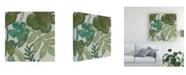 "Trademark Global Chariklia Zarris Greenery II Canvas Art - 15.5"" x 21"""