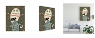 "Trademark Global Viv Eisner Happy Haunting I Canvas Art - 27"" x 33.5"""