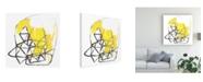 "Trademark Global June Erica Vess Acquisition IV Canvas Art - 19.5"" x 26"""