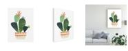 "Trademark Global June Erica Vess Happy Plants IV Canvas Art - 15.5"" x 21"""