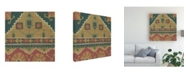 "Trademark Global Chariklia Zarris Dakota Ii Brown Canvas Art - 19.5"" x 26"""