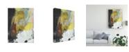 "Trademark Global Jodi Fuchs Abstract Koi Pond I Canvas Art - 27"" x 33.5"""
