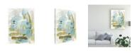 "Trademark Global Christina Long Reflecting Abstract Canvas Art - 27"" x 33.5"""