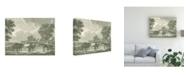 "Trademark Global Vision Studio Equestrian Scenes I Canvas Art - 27"" x 33.5"""