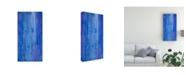 "Trademark Global Teodora Guererra Abstracted Iris Field II Canvas Art - 27"" x 33.5"""
