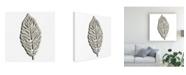 "Trademark Global June Erica Vess Cut Paper Palms II Canvas Art - 15.5"" x 21"""