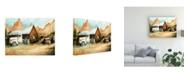 "Trademark Global Peter Potter Ghost Town Canvas Art - 15.5"" x 21"""
