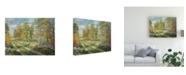 "Trademark Global Peter Snyder Autumnal Blind Line Canvas Art - 27"" x 33.5"""