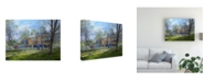 """Trademark Global Peter Snyder Spring Airing Canvas Art - 27"""" x 33.5"""""""