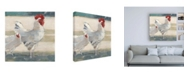 "Trademark Global Ethan Harper Chicken Yard I Canvas Art - 19.5"" x 26"""