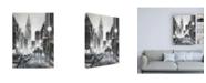 "Trademark Global Ethan Harper Illuminated Streets II Canvas Art - 27"" x 33.5"""