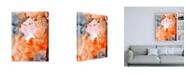 "Trademark Global Joyce Combs Lighting the Way III Canvas Art - 15.5"" x 21"""