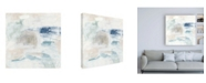 "Trademark Global June Erica Vess Pebble Coast III Canvas Art - 15.5"" x 21"""