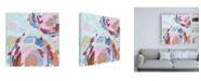 """Trademark Global Melissa Wang Pixel II Canvas Art - 19.5"""" x 26"""""""