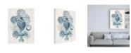 "Trademark Global June Erica Vess Coastal Melange II Canvas Art - 19.5"" x 26"""