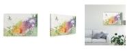 "Trademark Global Sheila Golden Heron Taking Flight Canvas Art - 20"" x 25"""