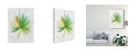 "Trademark Global Chariklia Zarris Ocean Side Palms II Canvas Art - 37"" x 49"""