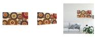 "Trademark Global Julie Joy Round a Bout I Canvas Art - 37"" x 49"""