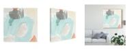 "Trademark Global June Erica Vess Chromatic Inference I Canvas Art - 15"" x 20"""