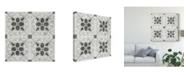"""Trademark Global June Erica Vess Boho Luxe Tile V Canvas Art - 15"""" x 20"""""""