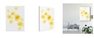 "Trademark Global June Erica Vess Falling Blossoms III Canvas Art - 15"" x 20"""
