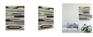 "Trademark Global June Erica Vess Textile Ratio I Canvas Art - 20"" x 25"""