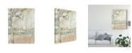 "Trademark Global Jennifer Goldberger Ethereal Tree I Canvas Art - 37"" x 49"""