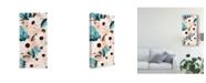 "Trademark Global Prunis Dulcis Wind Daisies I Canvas Art - 15"" x 20"""